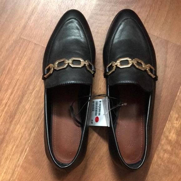 H\u0026M Shoes   Hm Womens Black Loafers